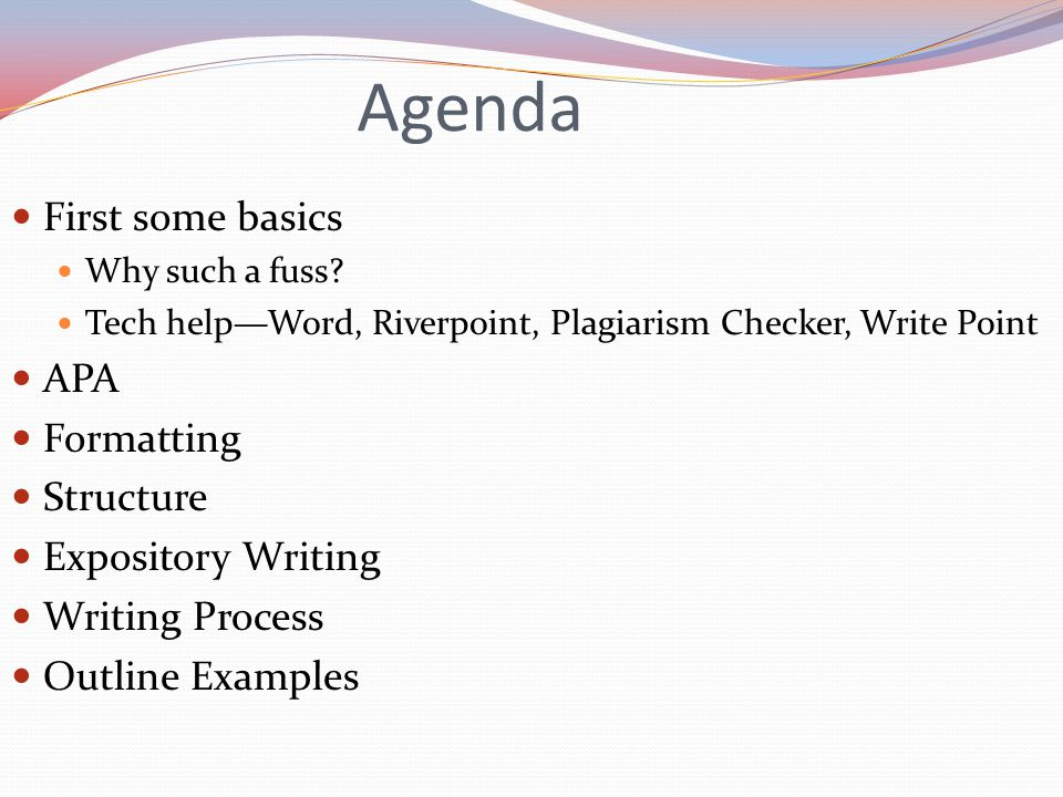Agenda First some basics Why such a fuss.