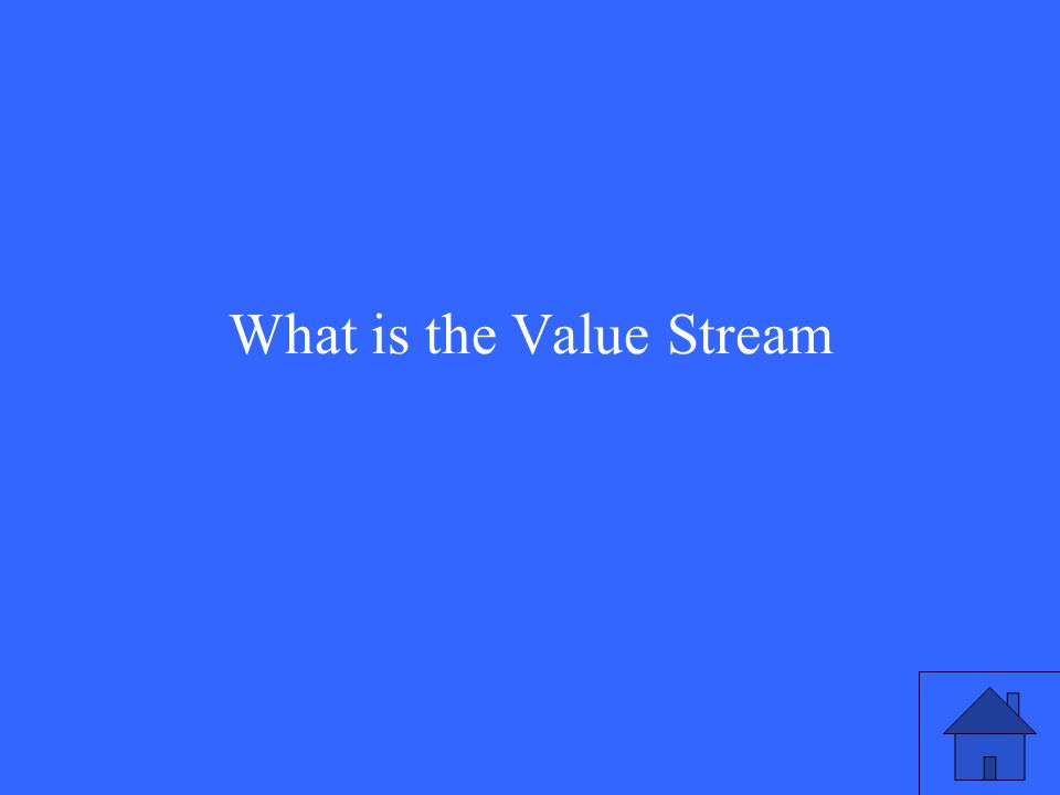 What is the Value Stream