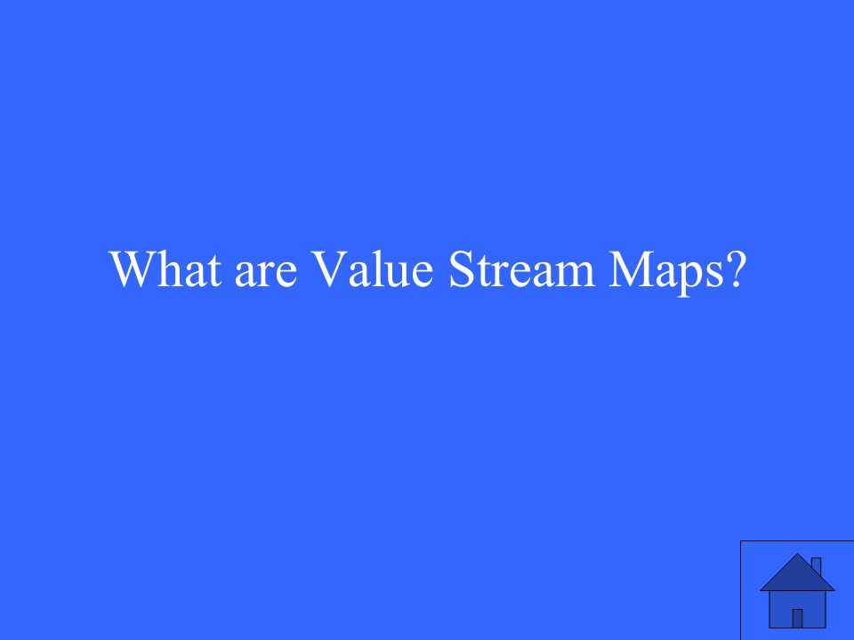 What are Value Stream Maps?