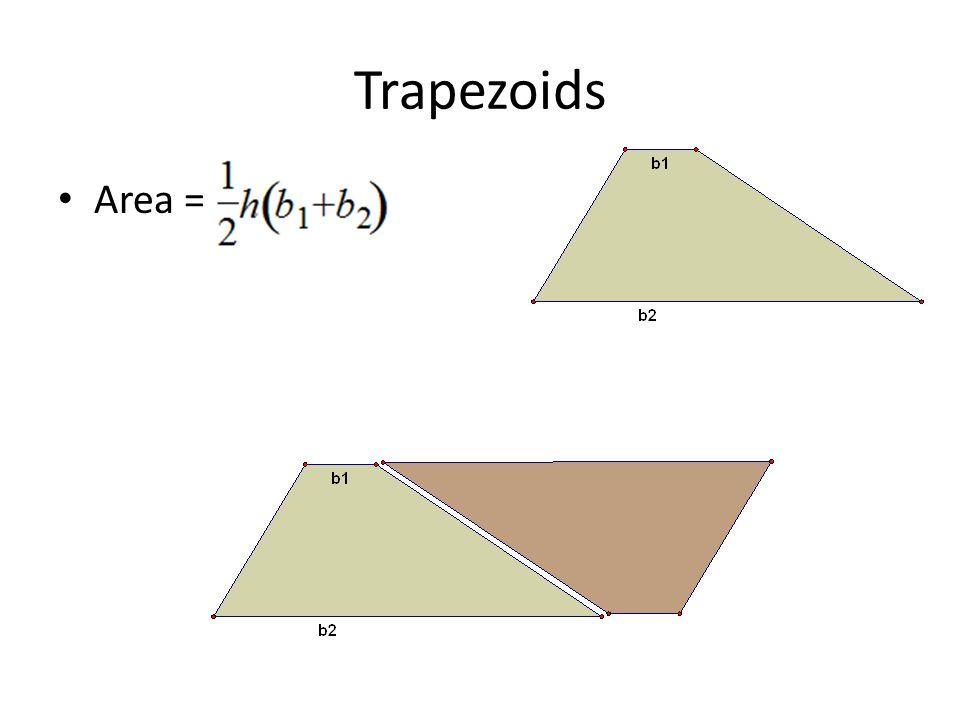 Trapezoids Area =