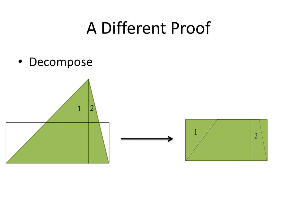 A Different Proof Decompose