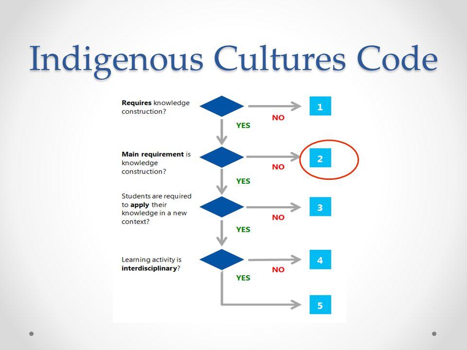 Indigenous Cultures Code