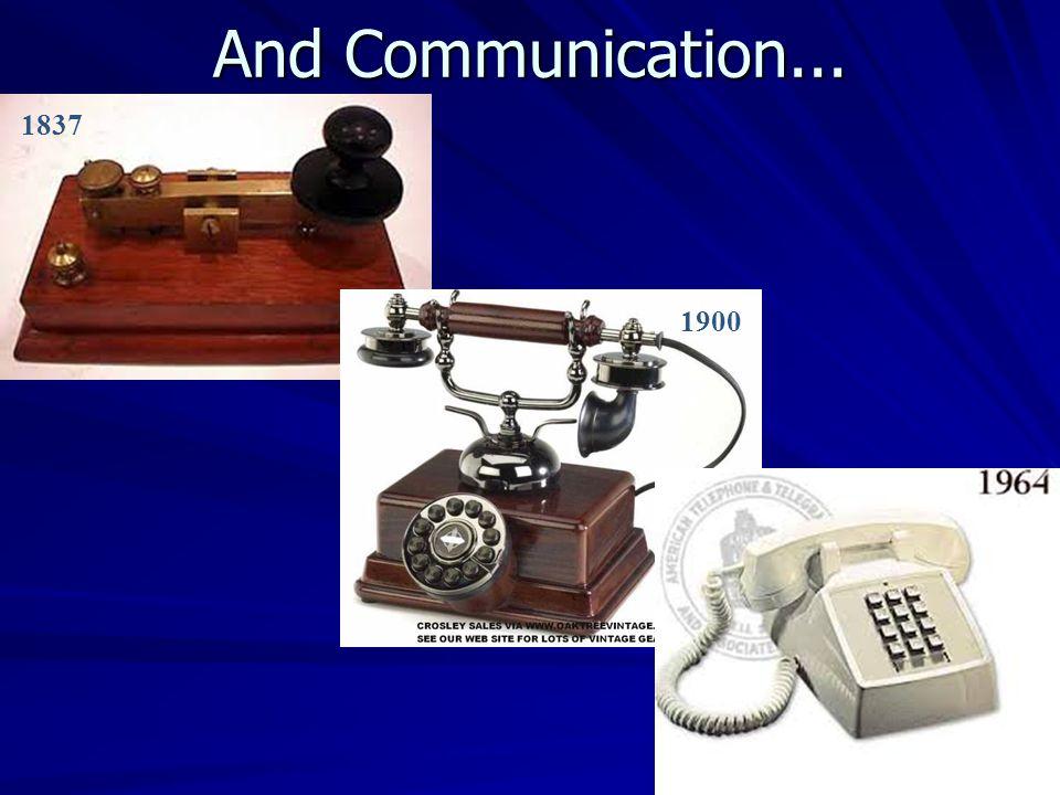 Early Radio Technology (circa 1920)