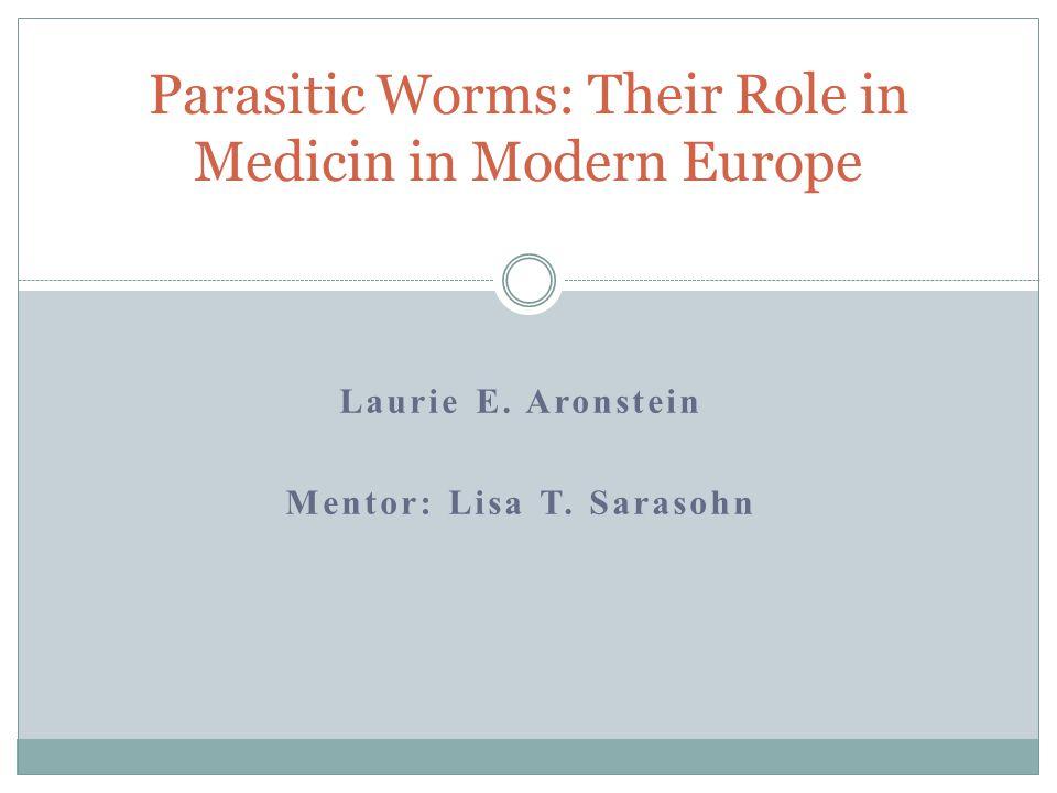 Laurie E. Aronstein Mentor: Lisa T.