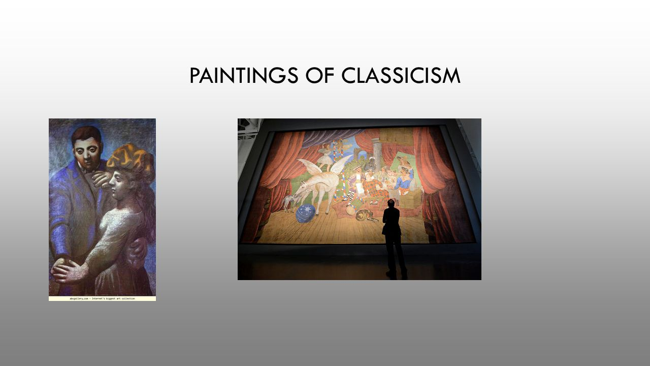 PAINTINGS OF CLASSICISM