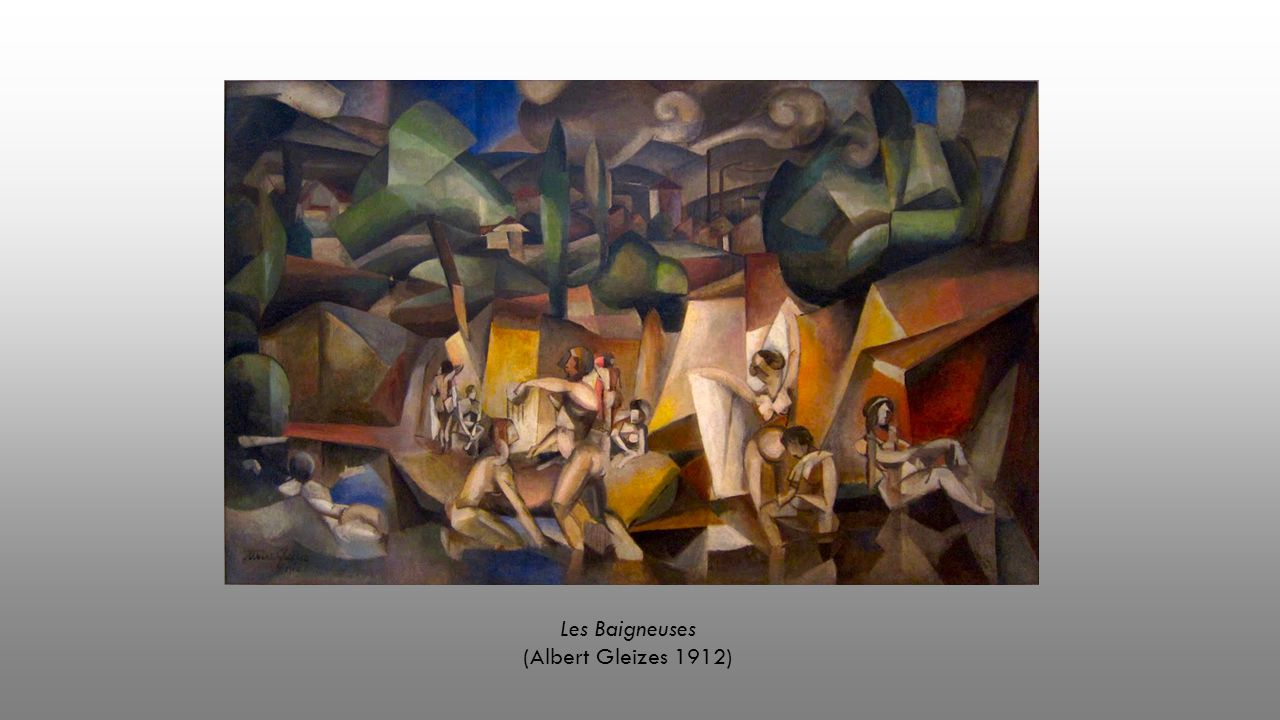 Les Baigneuses (Albert Gleizes 1912)