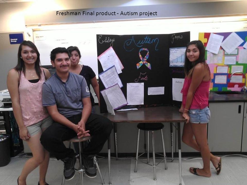 Freshman Final product - Autism project