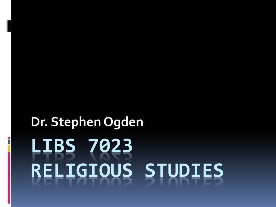 Dr. Stephen Ogden