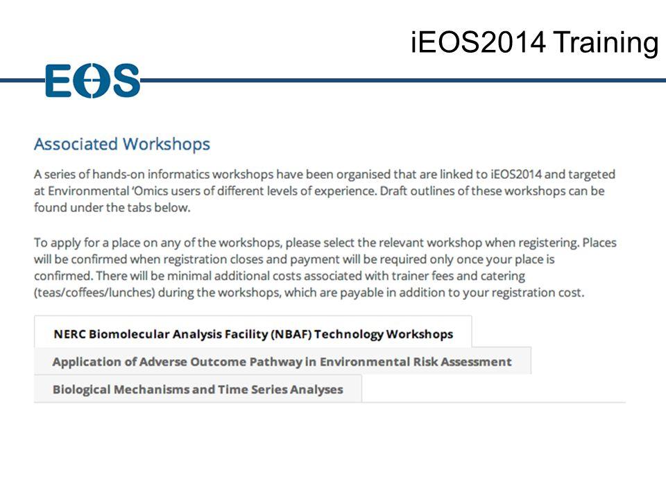 iEOS2014 Training