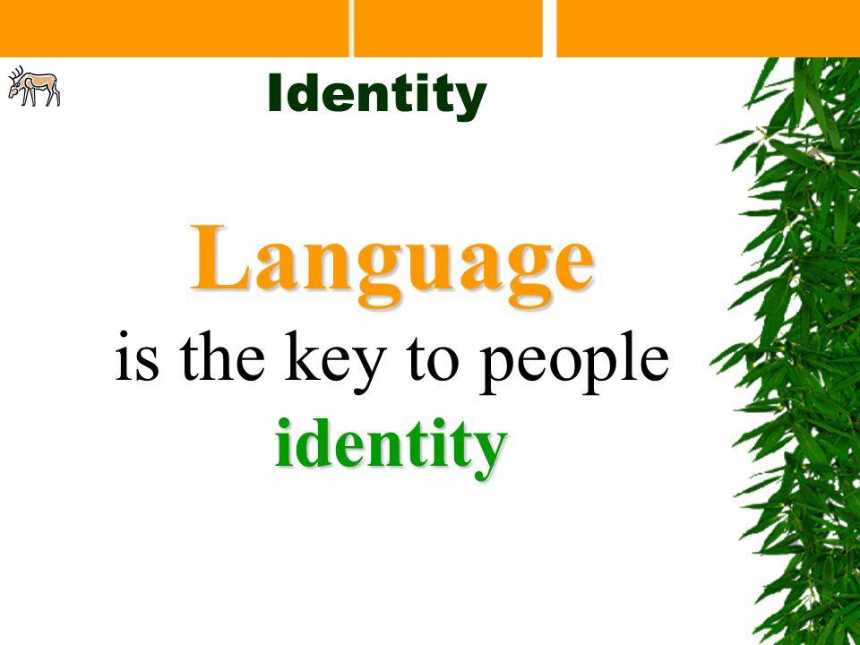 Main Linguistic Groups Identity So what language do you speak? Mundari Kharia Santali Ho Kurukh