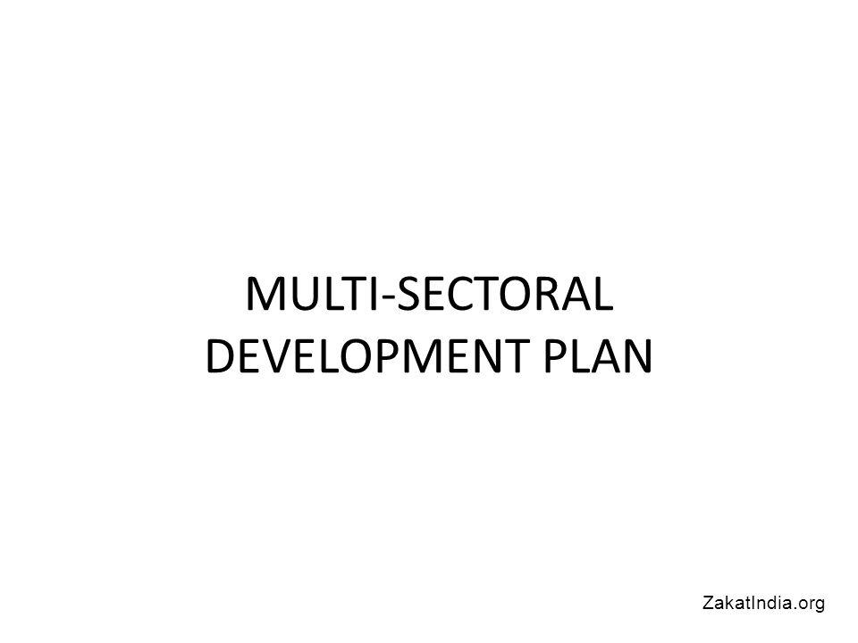 MULTI-SECTORAL DEVELOPMENT PLAN ZakatIndia.org