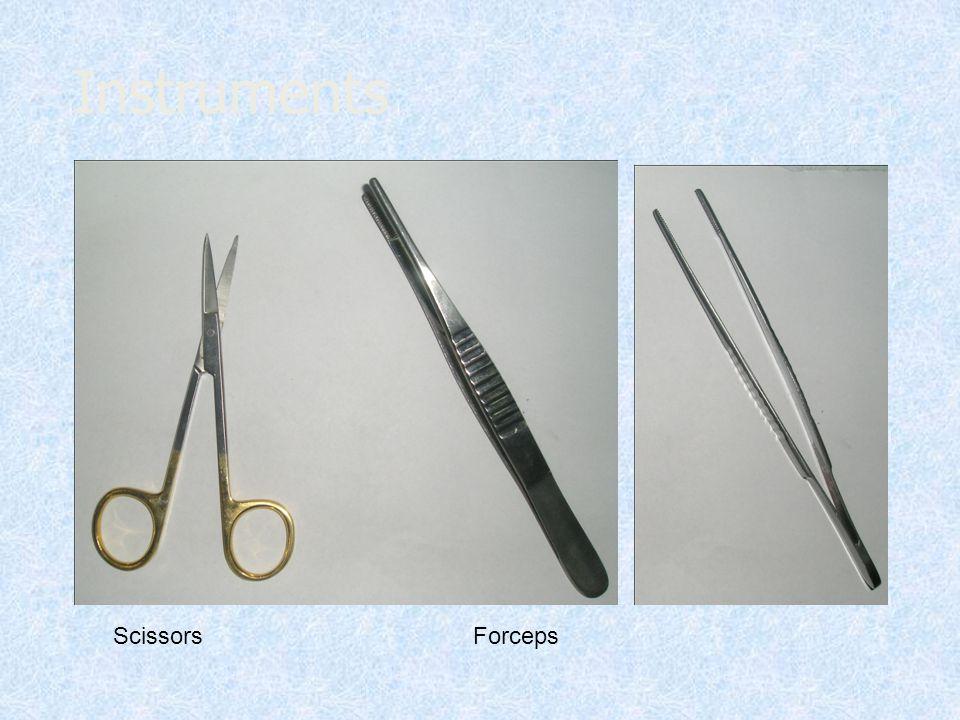 Instruments ScissorsForceps