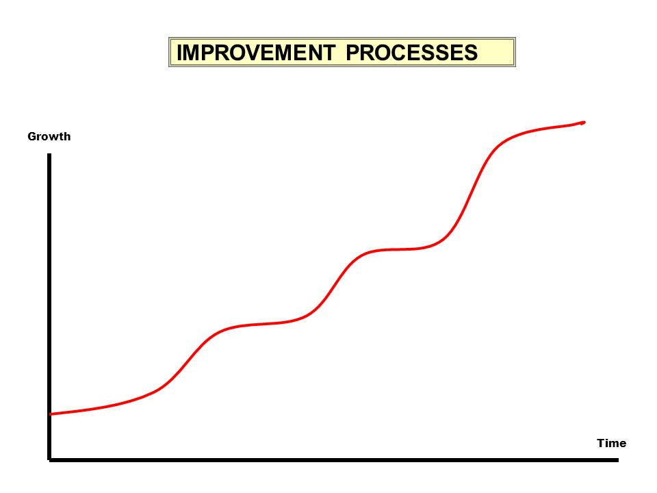IMPROVEMENT PROCESSES Growth Time