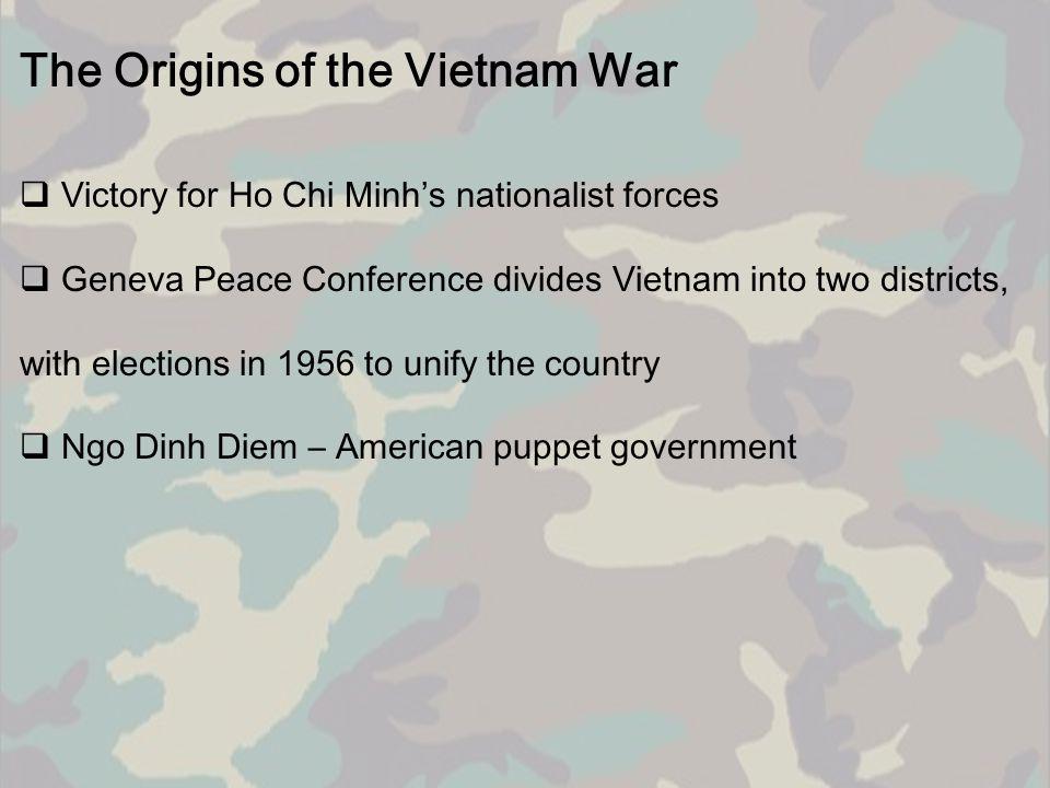 The Origins of the Vietnam War  1960s, the U.S.