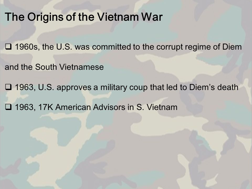 The Vietcong: The Other Enemy  The Viet Cong were supported and trained by the government of communist North Vietnam.