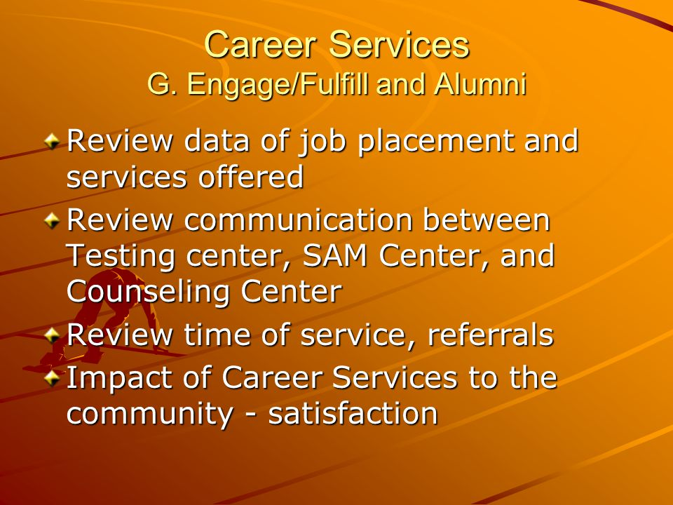 Career Services G.