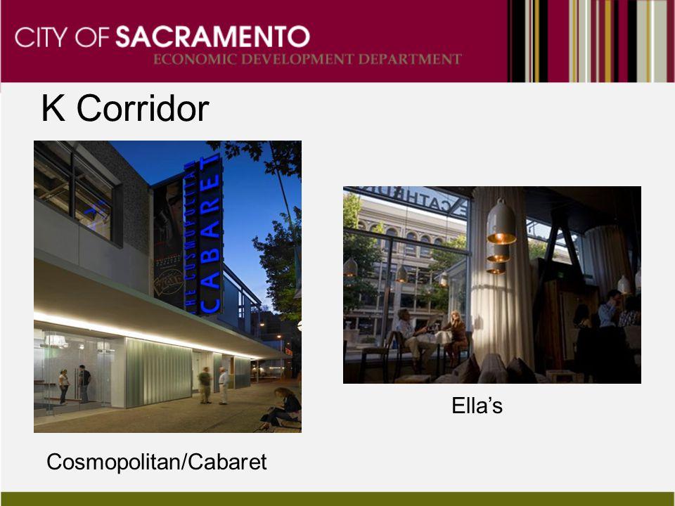 K Corridor Ella's Cosmopolitan/Cabaret