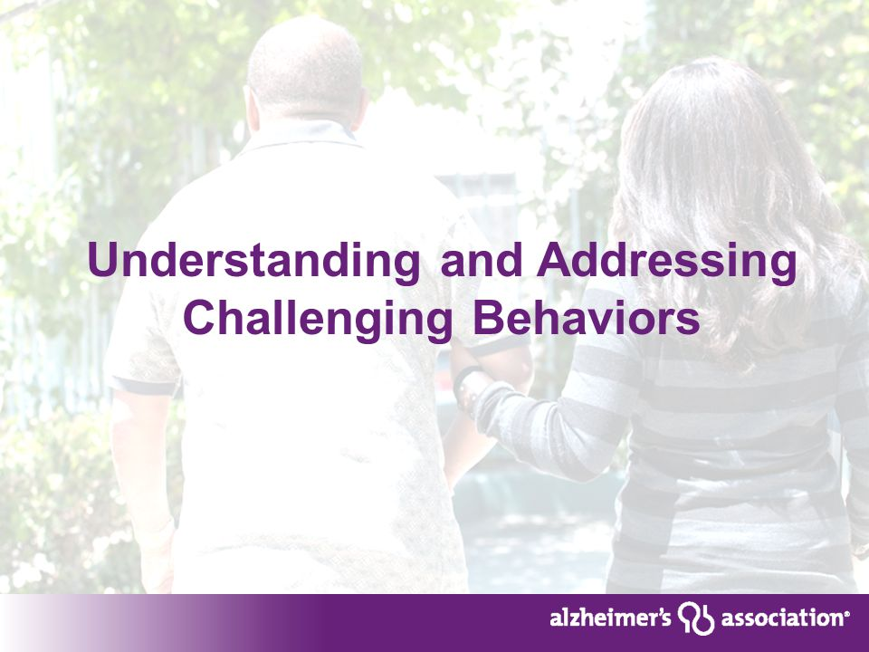 Understanding and Addressing Challenging Behaviors