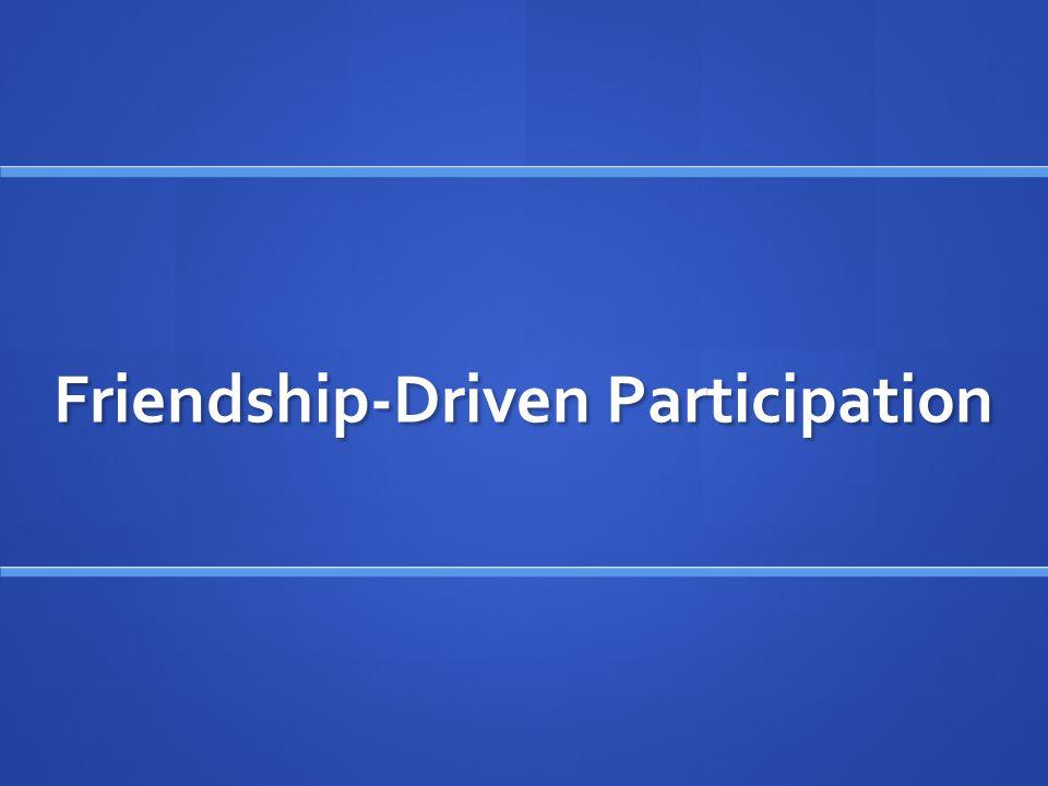 Interest-Driven Participation