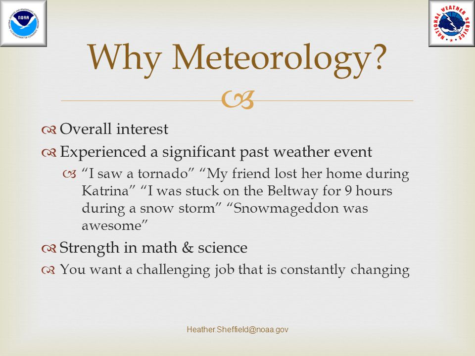 """  Overall interest  Experienced a significant past weather event  """"I saw a tornado"""" """"My friend lost her home during Katrina"""" """"I was stuck on the B"""