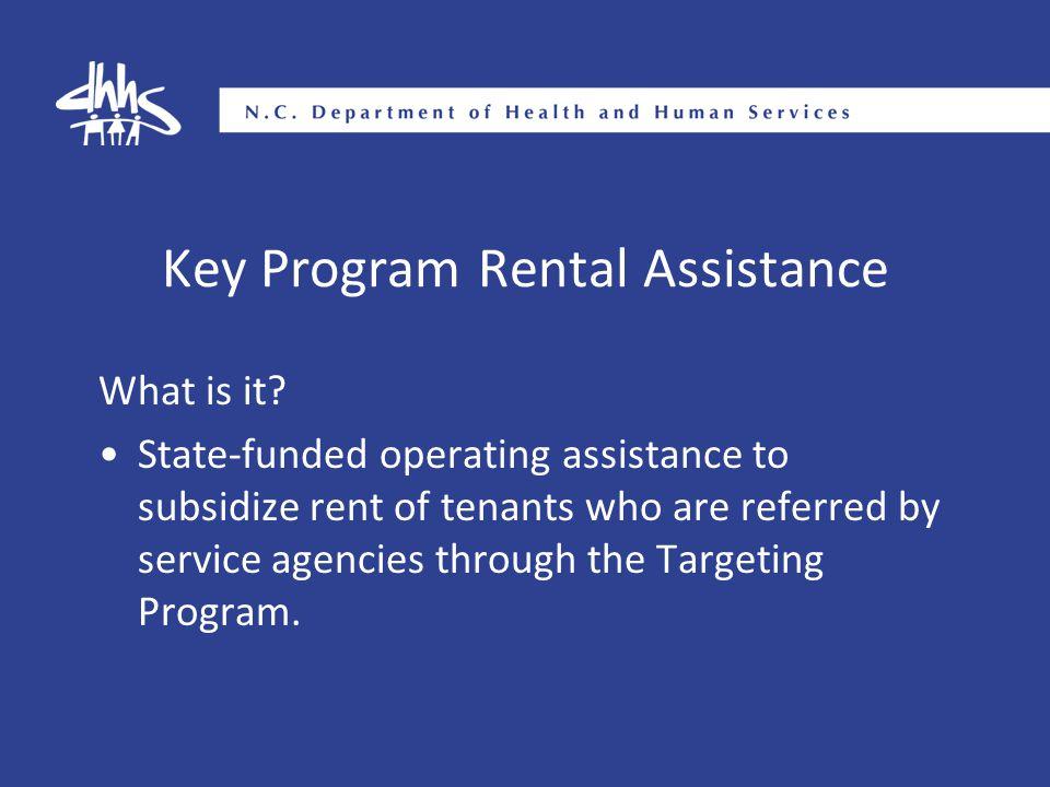Key Program Rental Assistance What is it.