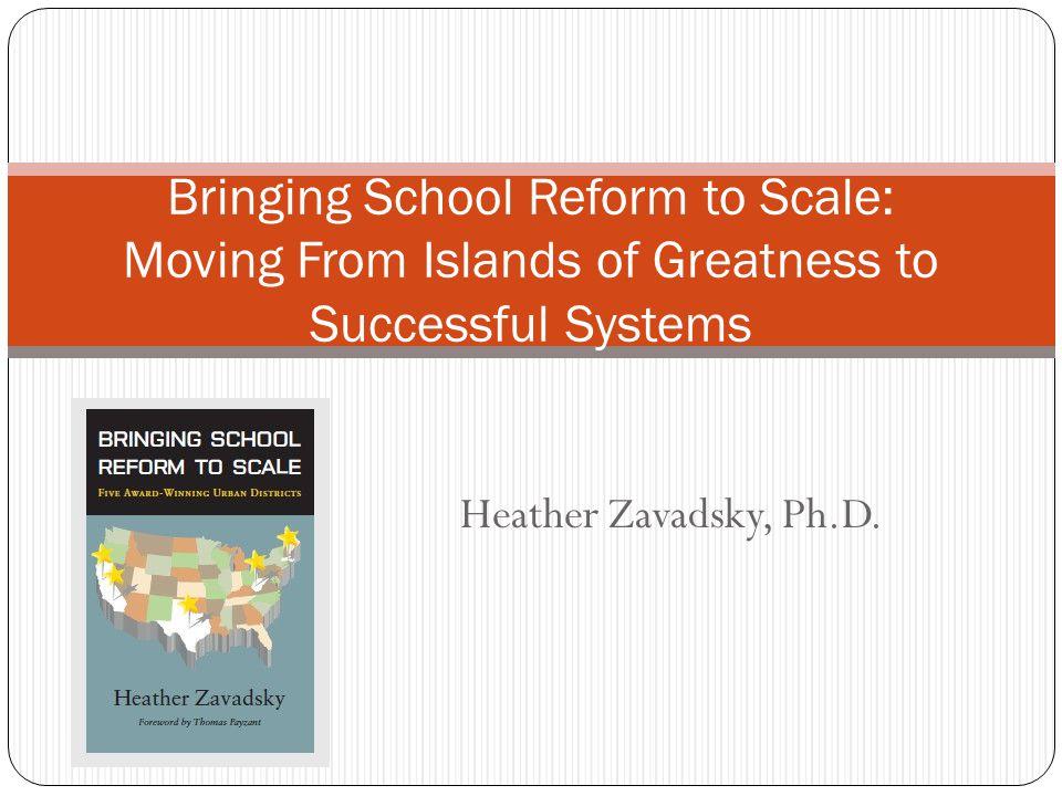 Heather Zavadsky, Ph.D.