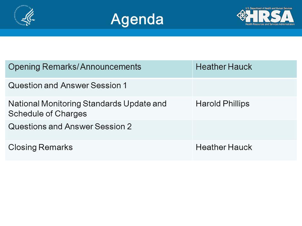 Announcements Heather Hauck, Director Division of State HIV/AIDS Programs HIV/AIDS Bureau