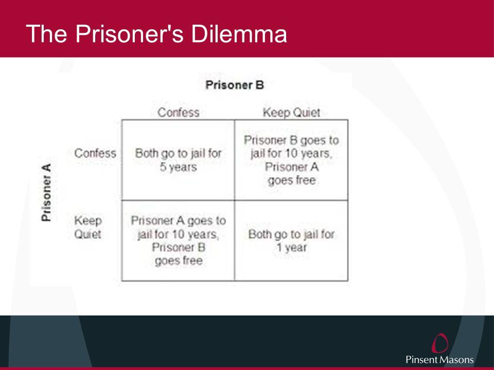 The Prisoner s Dilemma