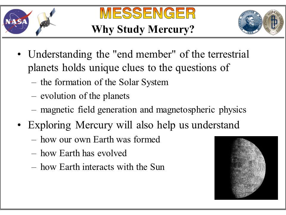 Why Study Mercury.