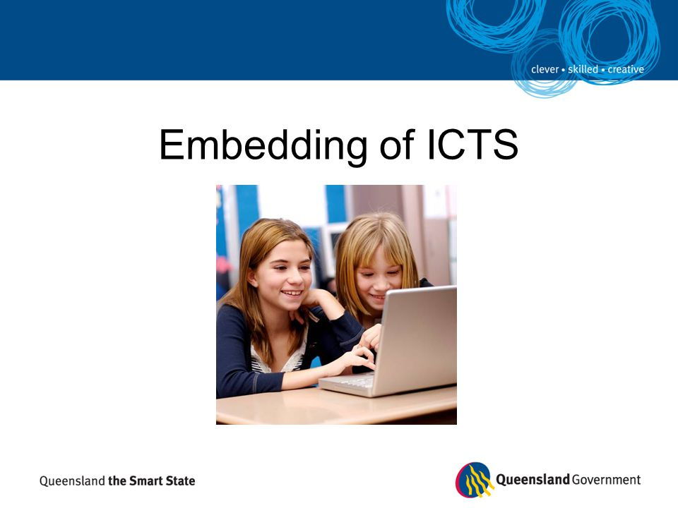 Embedding of ICTS