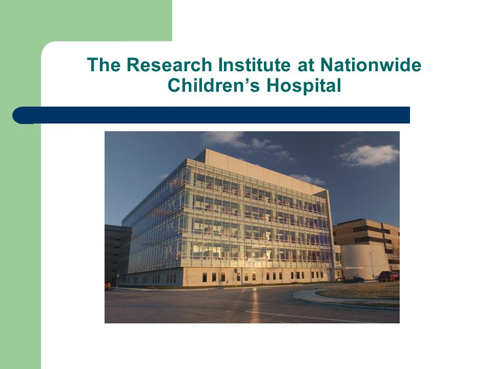 The Research Institute at Nationwide Children's Hospital