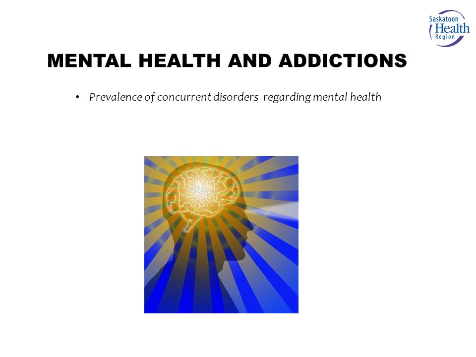 Prevalence of concurrent disorders regarding mental health MENTAL HEALTH AND ADDICTIONS