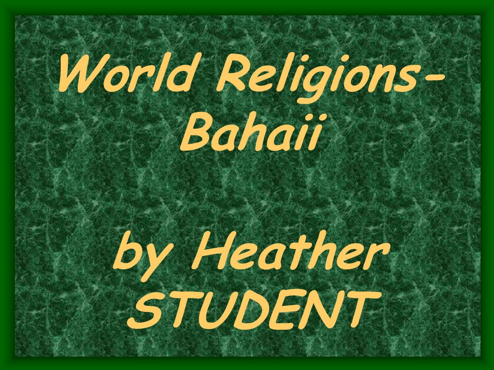 The Bahai Faith The Bahai Faith is an independen t monotheist ic religion with its own laws, calendar, and holy days.