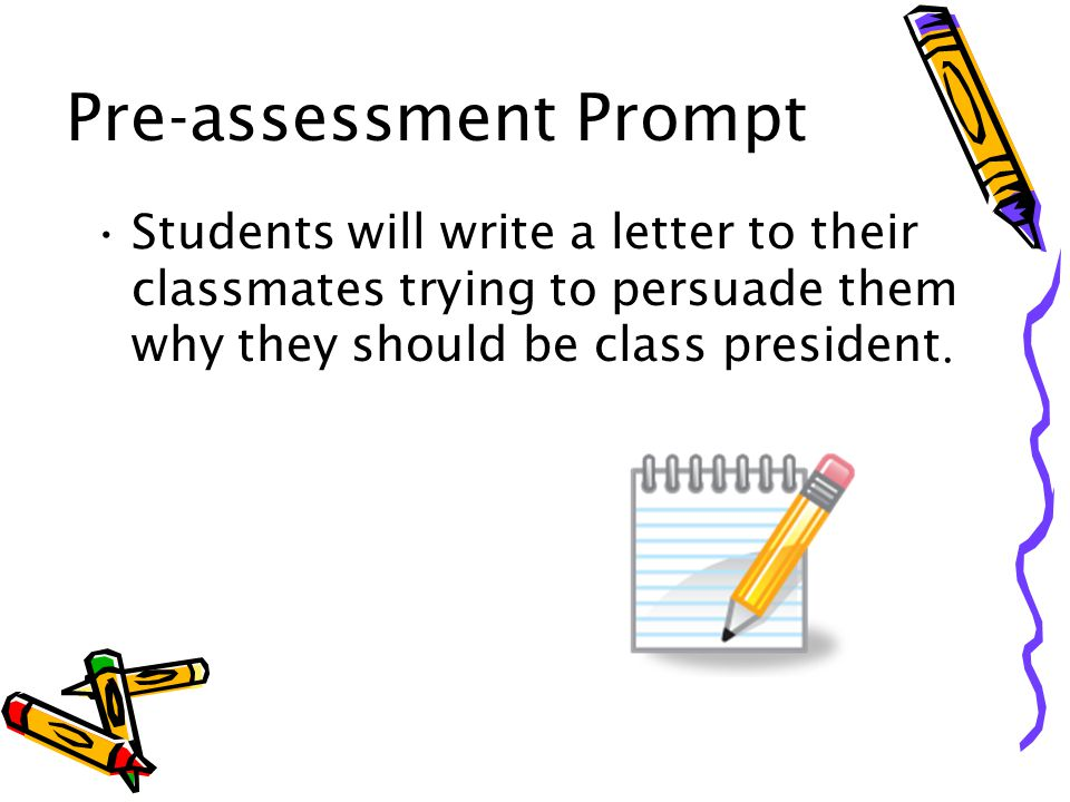 Grouping Options: Teacher's needs Whole group: This will be used during instruction time, modeling, and for the practice activities for each stage of the writing process.