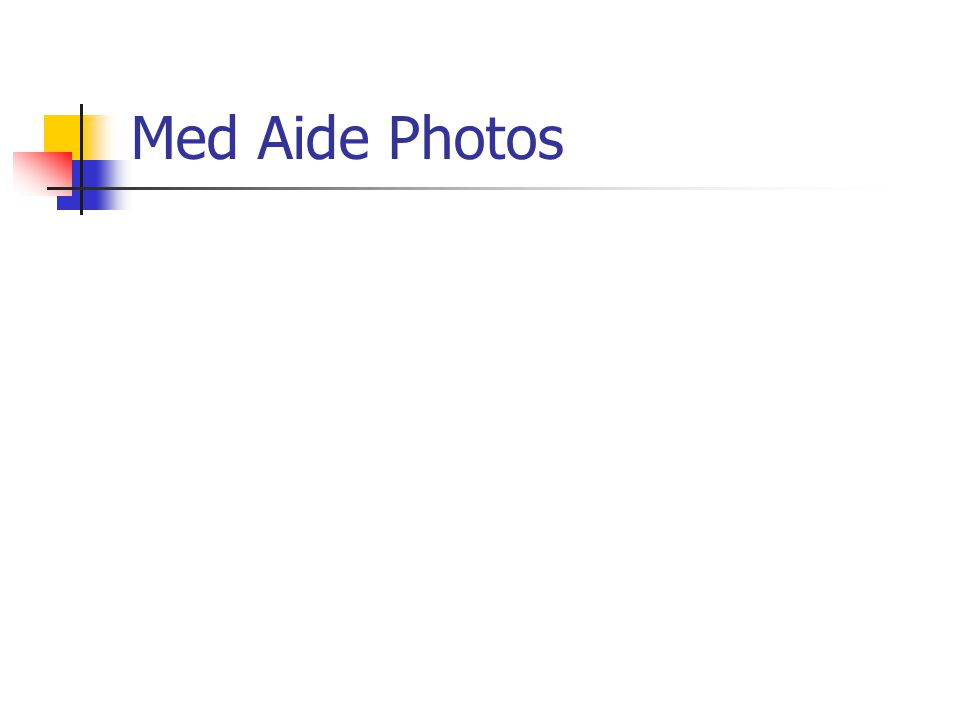Med Aide Photos