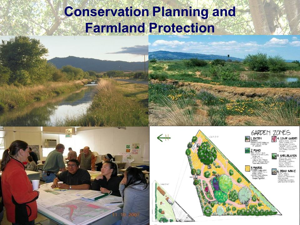 Conservation Planning and Farmland Protection