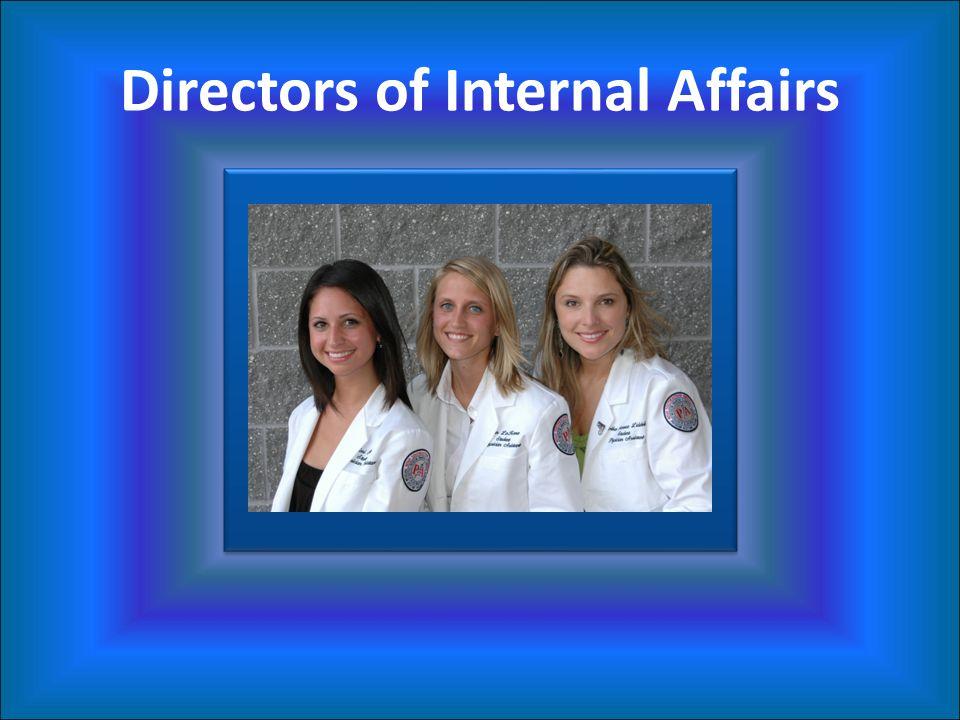 Directors of Internal Affairs