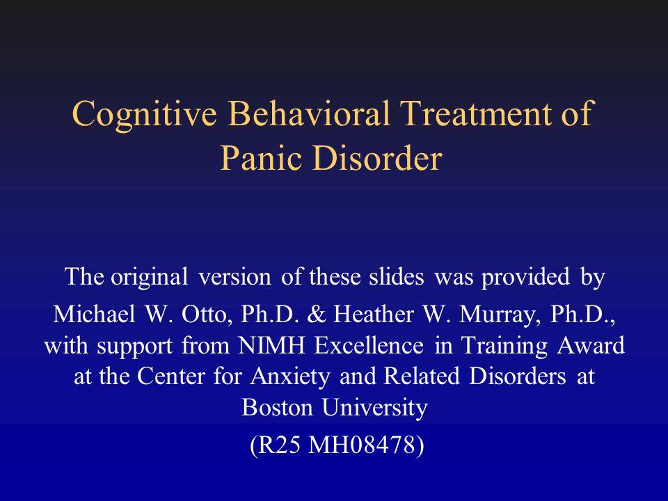 Panic Disorder: Continuation Treatment % Responders (40%  PDSS) Barlow DH, et al.