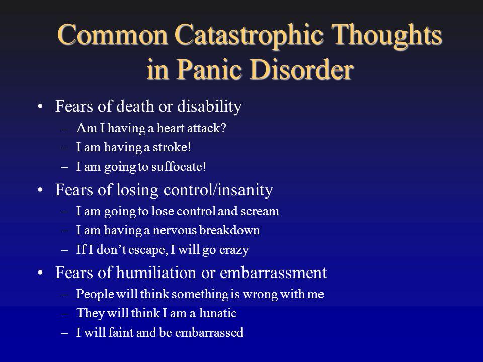 Preventive Treatment % Developing Panic Disorder 121 Participants Gardenswartz CA, Craske MG.