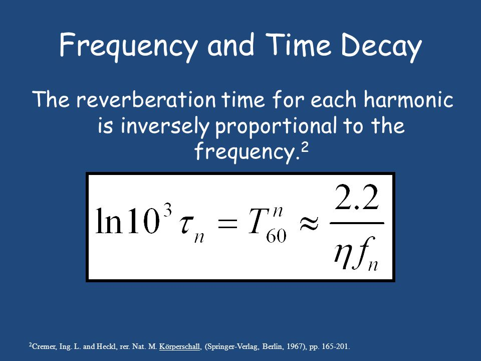Exponential Time Decays for C 2