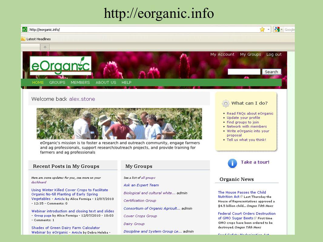 http://eorganic.info
