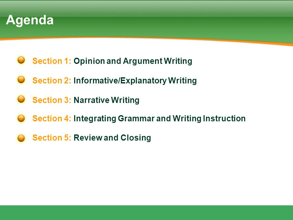 34 BIG IDEAS - Teach the What and How WHAT –Critical attributes –Rubric –Example HOW –Writing Process