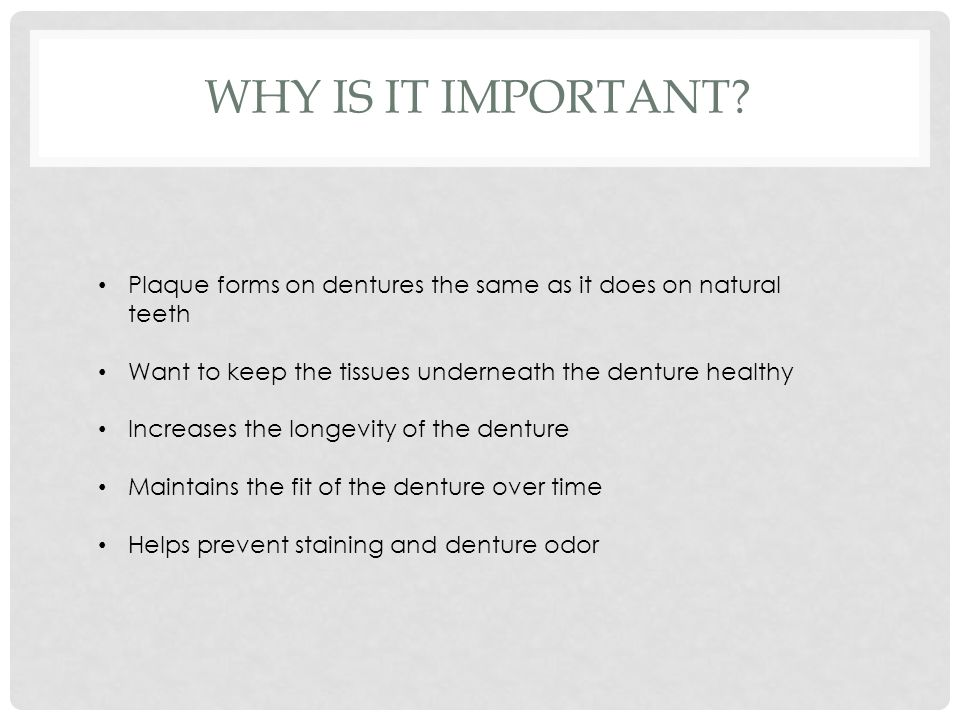 WHY IS IT IMPORTANT.