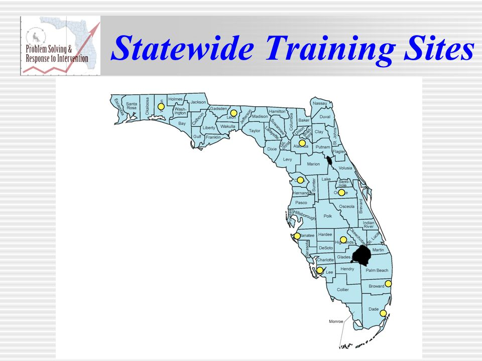 Statewide Training Sites