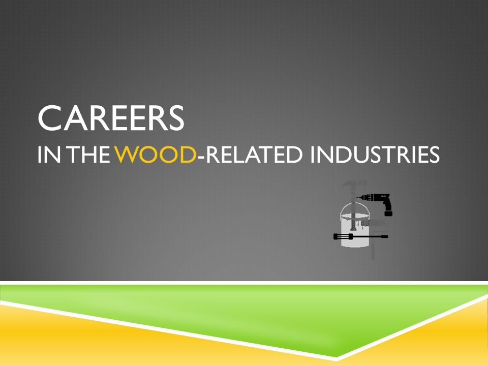 Check out this video on jobs in the architectural woodwork segment of the industry: http://youtu.be/aCKlbNdpk9Y http://youtu.be/aCKlbNdpk9Y Want to hear directly from people in the industry?