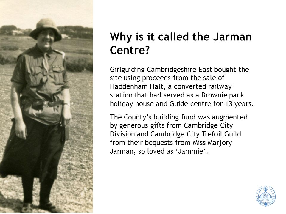 Why is it called the Jarman Centre.