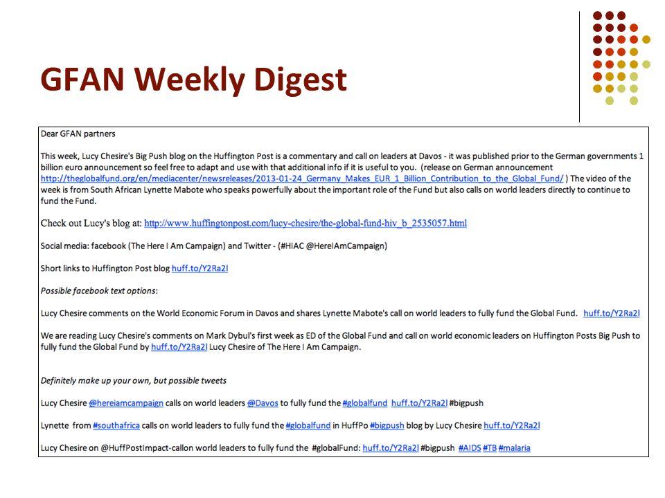 GFAN Weekly Digest