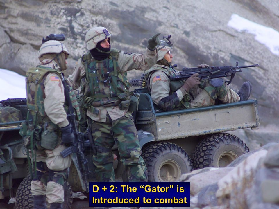 D + 2: The Gator is Introduced to combat