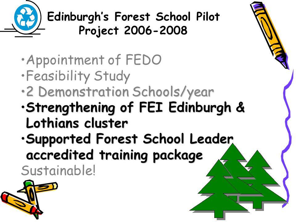 Forest School Leader Training06/07 Colinton Dells