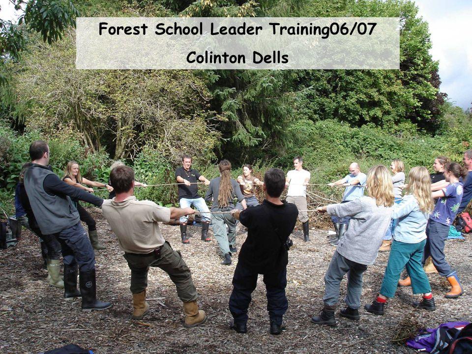 Forest School Leader Training 07/08 Craigmillar Castle Park – Hawkhill Woods